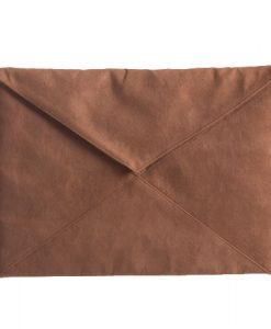 Клатч - коричневый замша