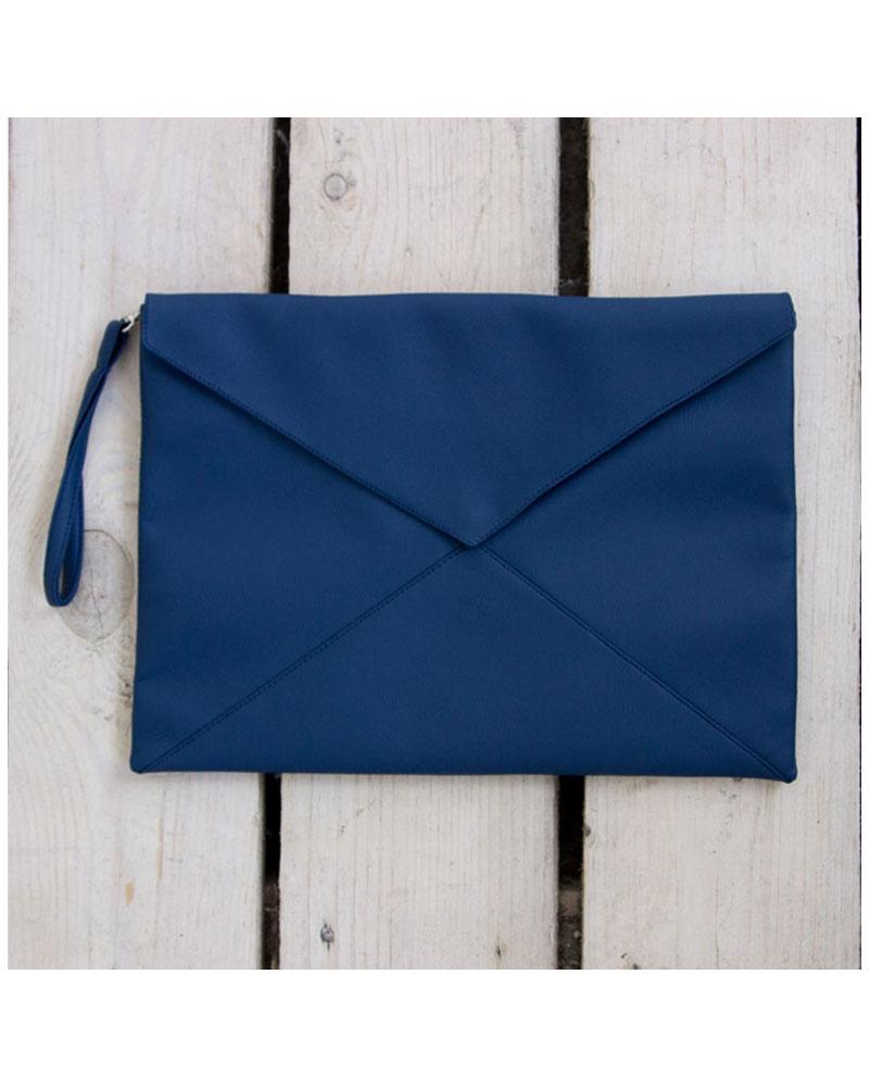 c8f1d7a6a014 Клатч конверт - Синий   Emmabags - клатчи и сумки!